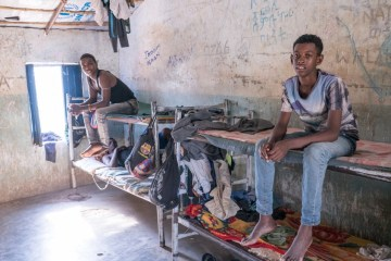 Eritrean migrants in Kassala