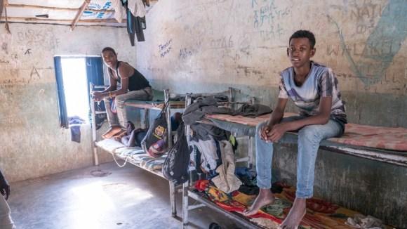 Eritrean migrants in Kassala