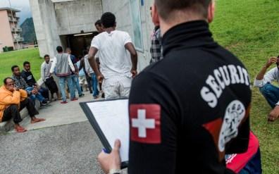 Eritrean refugees Switzerland