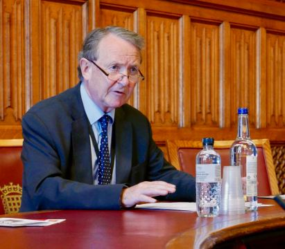 Lord Alton, All Party Parliamentary Group on Eritrea hearing on religious persecution