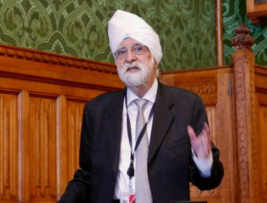 Lord Rambir Singh Suri: All Party Parliamentary Group on Eritrea hearing on religious persecution