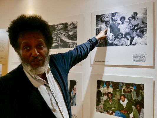 Eritrea In the News Exhibition - Dawit Mesfin