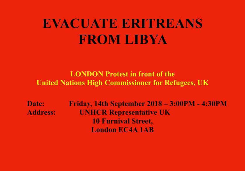 Evacuate Eritreas from Libya