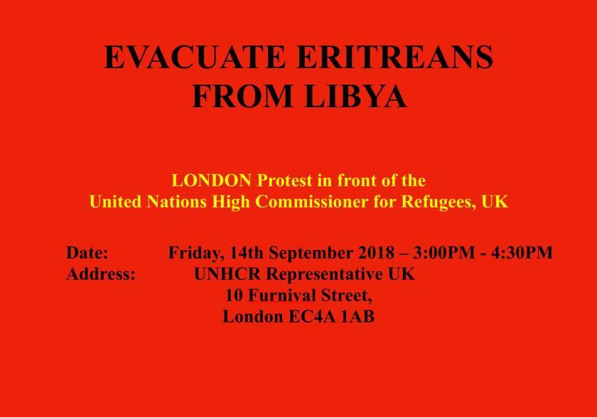 Evacuate Eritreas from Libya