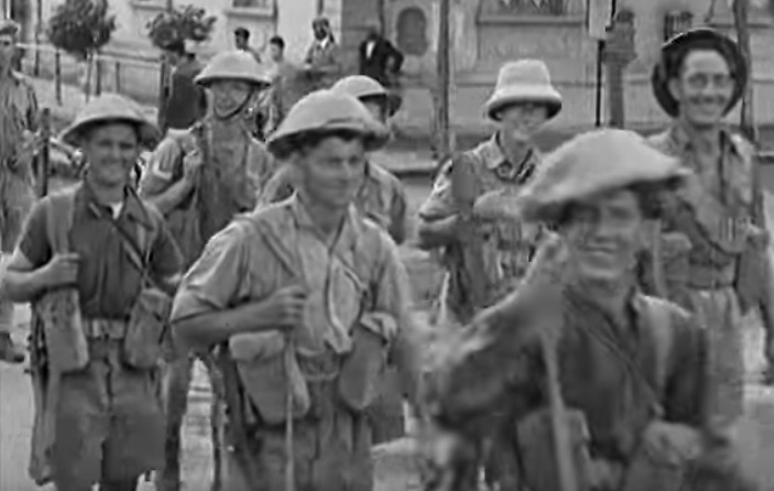 British troops Asmara 1941