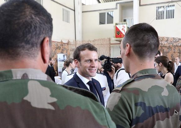 Macron Djibouti French Base