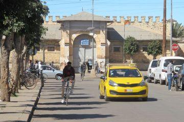 Karsheli Prison, in the heart of Asmara, Eritrea's capital. Tamara Baraaz