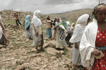 Eritrean Women working the land
