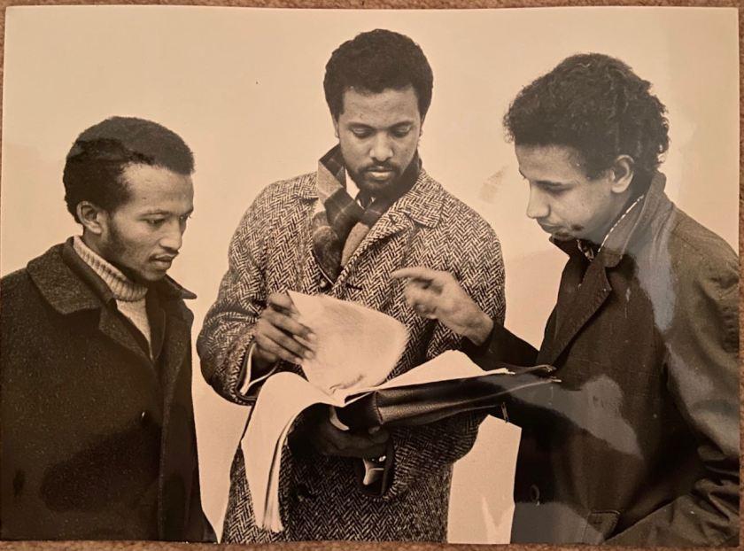 Three young Eritreans Beshir Said Zain, Assefa Michael, Hassen Abdulkader Mussalem