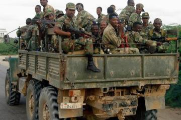 Ethiopian Troops Somalia