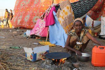 Ethiopian refugee Hamdayet Reception Center