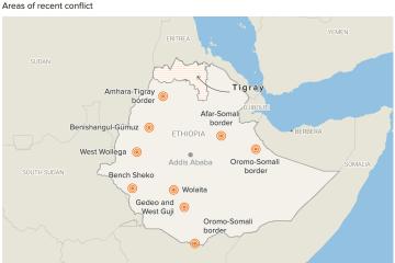 Ethiopia's Regional Conflicts