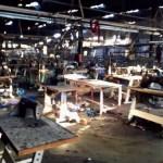 Almeda Textile Factory looted