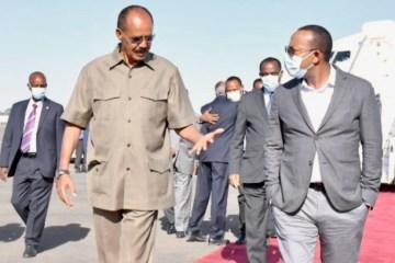 Abiy Ahmed in Asmara 25 and 26 March