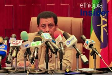 Ethiopian Foreign Ministry spokesman Dina Mufti