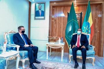 Jeffrey Feltman & Demeke Mekonnen HassenFlag of Ethiopia @DemekeHasen Foreign Minister May 11