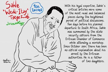 Sahle Wedi-Itay Tsefezab - Eritrean Political Prisoner