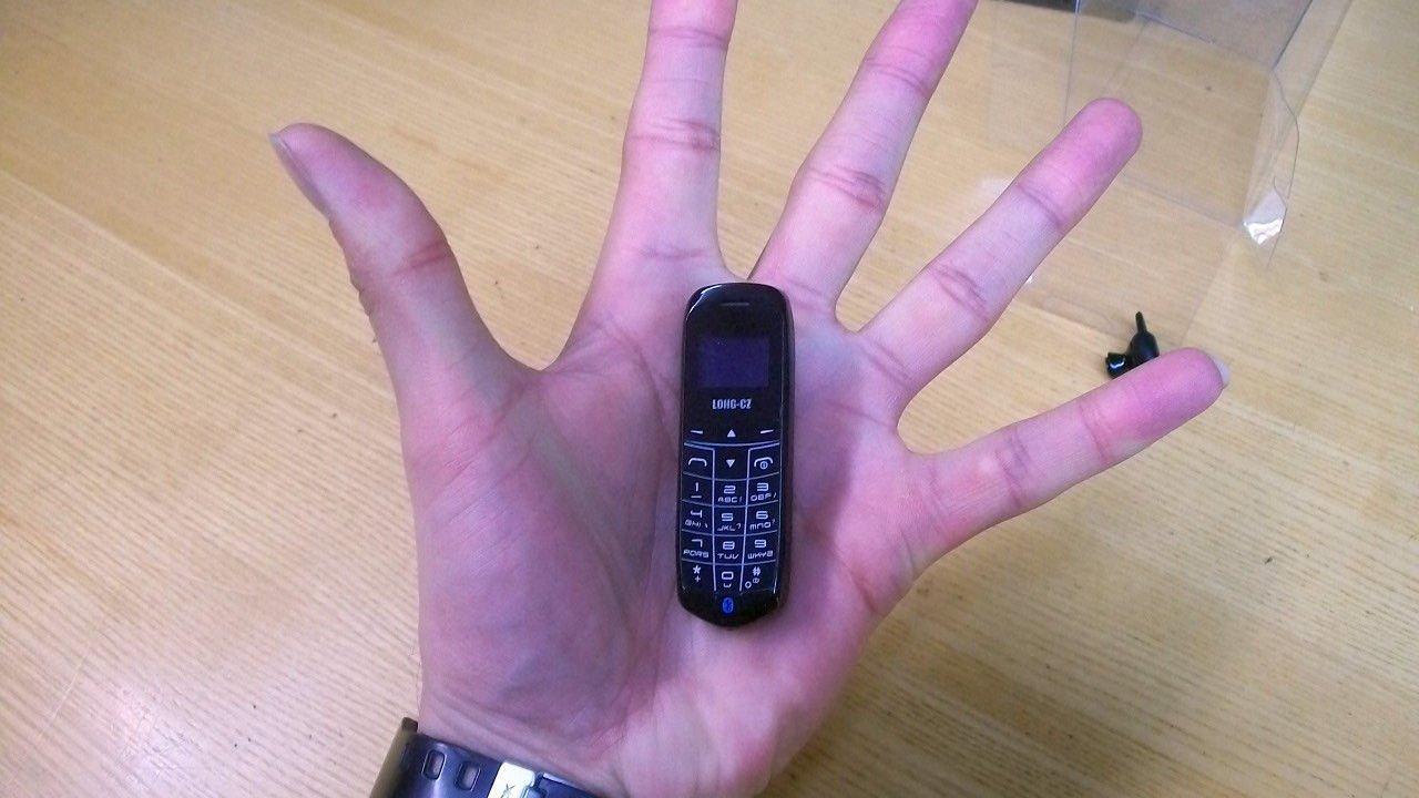Este es el celular más pequeño del mundo