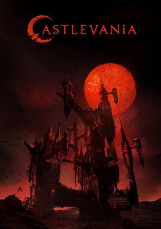 Póster de Castlevania, nueva serie de Netflix