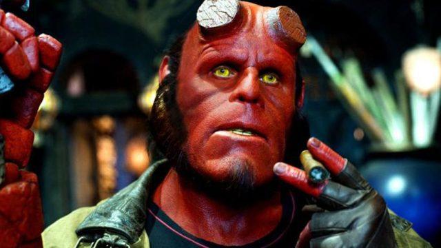 Ron Periman como Hellboy