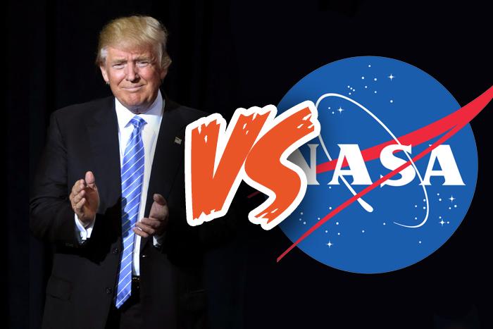 Donald Trump vs NASA
