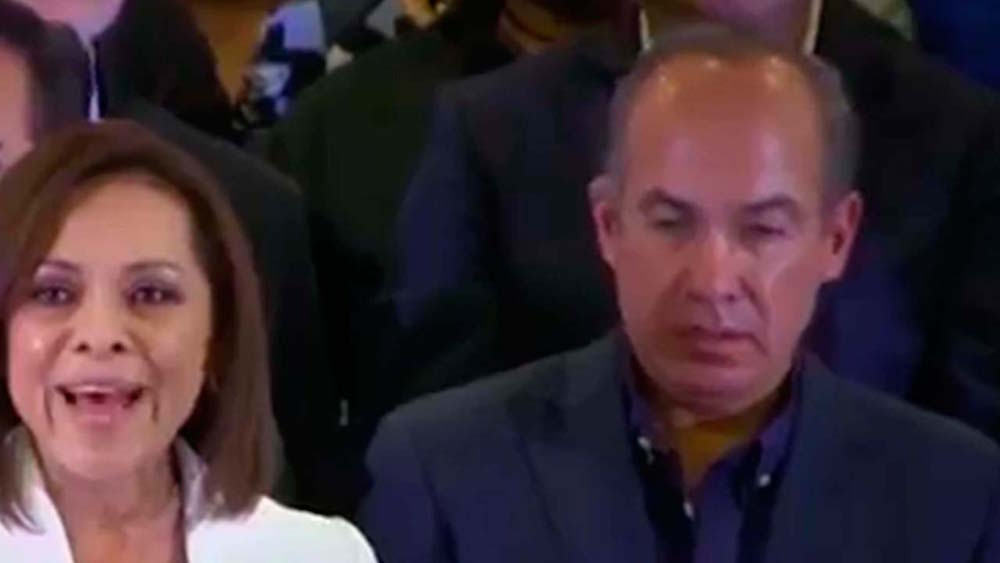 Felipe Calderón, ¿ebrio durante un discurso de Vázquez Mota? - Erizos