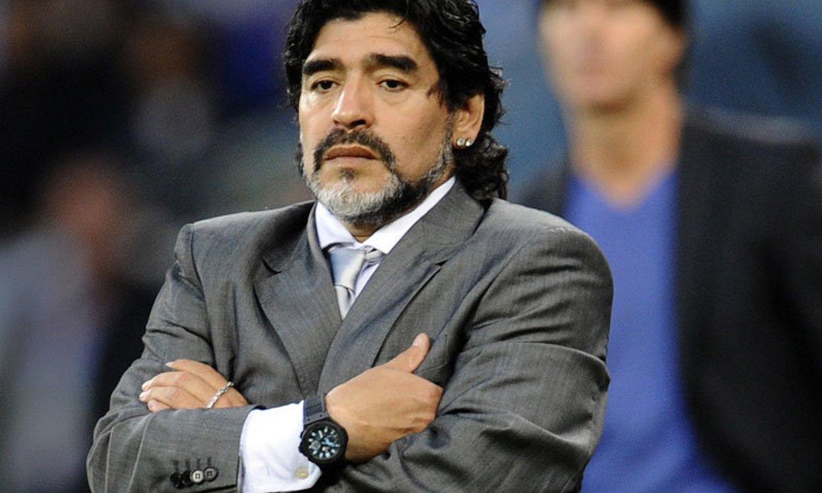 Maradona quiere demandar a Konami, creador del videojuego PES 2017