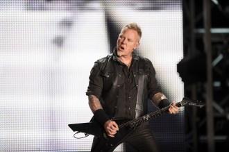 James Hetfield en la primera fecha de Metallica en el Foro Sol