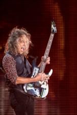 Kirk Hammett en la primera fecha de Metallica en el Foro Sol