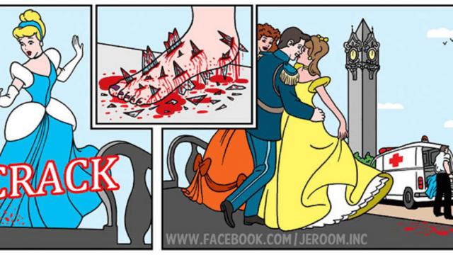 Los comics de las Princesas Disney que arruinarán tu infancia