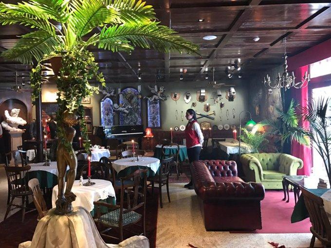Restaurante del Walled Off Hotel
