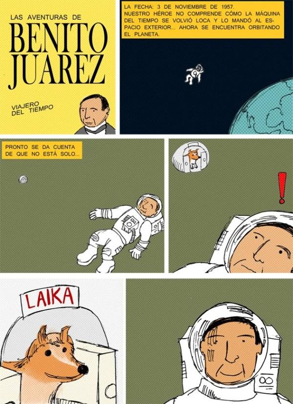 Benito Juarez encontró a Laika