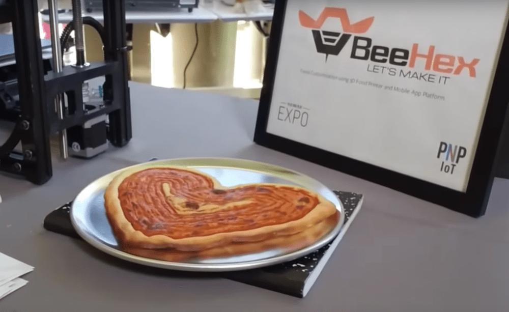 La NASA invirtió en Chef3D, una impresora 3D que hace pizza en el espacio ¡en 6 minutos!