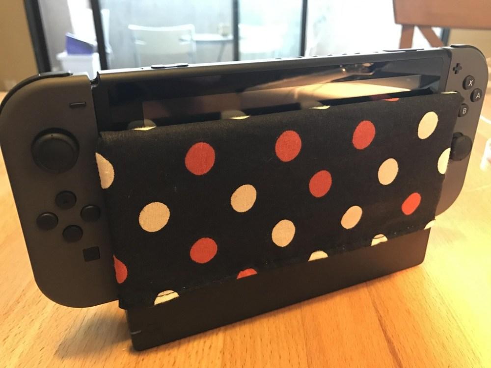 Protección pantalla base Nintendo Switch