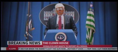 Snoop Dogg puso en pantalla al verdadero presidente de EUA