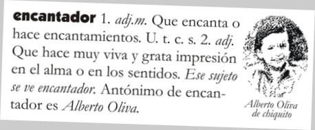 Alberto Oliva, divertido y encantador