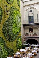 Un hotel en el centro de la Ciudad de México guarda este jardín creado por el grupo de arquitectos Cherem Serrano