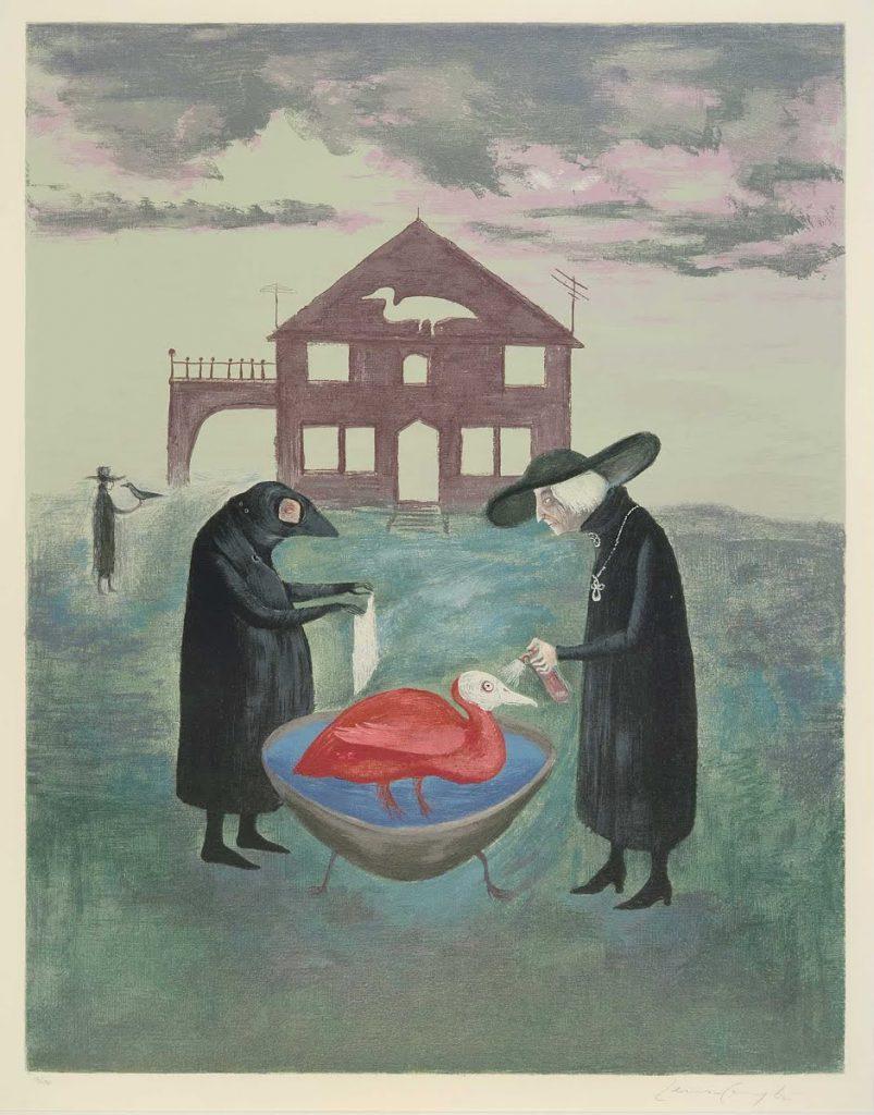 Bird Bath 1974