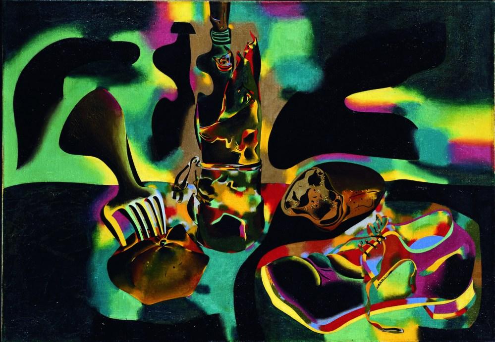 Bodegón del zapato viejo (1937) de Joan Miró