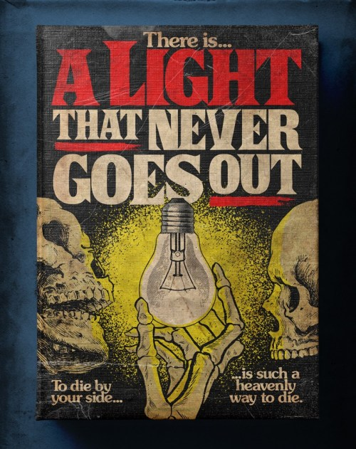 Butcher Billy ilustra There Is A Light That Never Goes Out de The Smiths