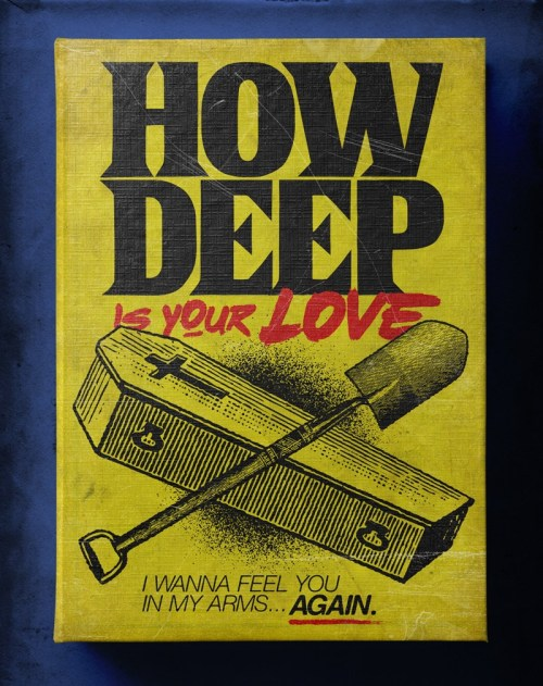 "Butcher Billy ilustró ""How Deep Is Your Love"" de The Bee Gees"