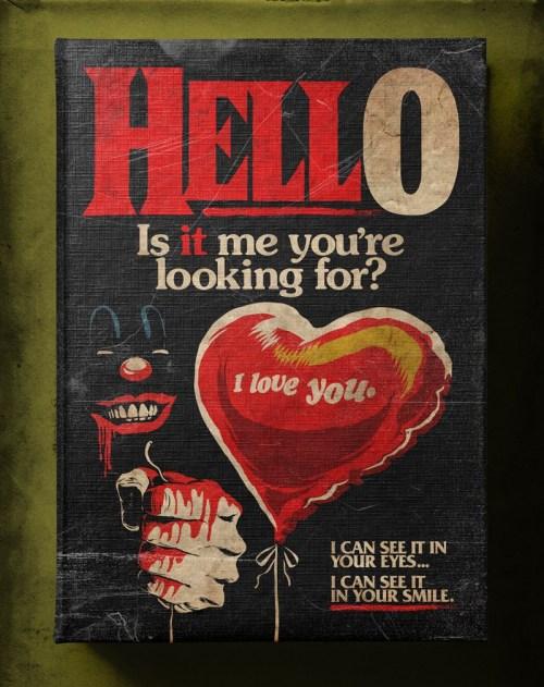 Butcher Billy ilustra Hello de Lionel Richie