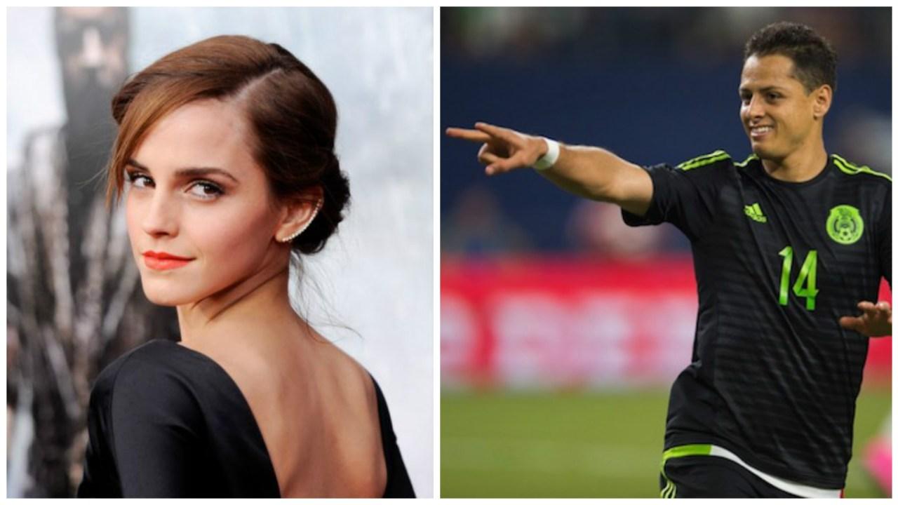 Chicharito se enamora de Emma Watson