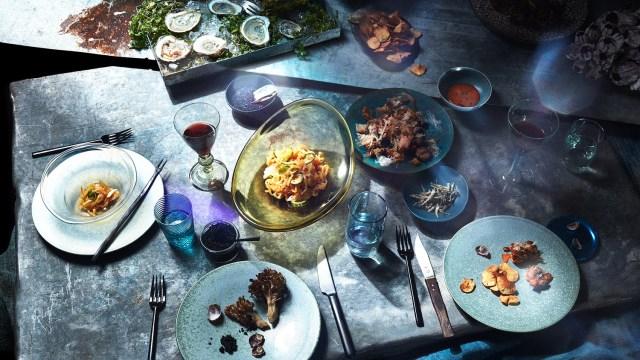 Artista imagina cómo será la comida del futuro gracias al cambio climático