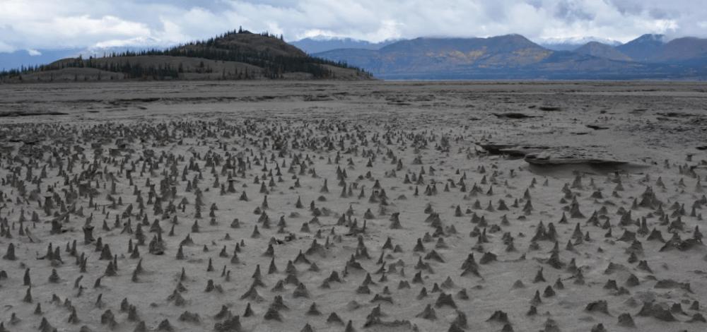El río Slims desapareció de Canadá en sólo cuatro días