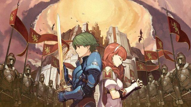 Alm y Celica, protagonistas de Fire Emblem Echoes: Shadows of Valentia