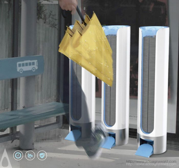 UltraDry Dryer ganador del A' Design Award & Competition