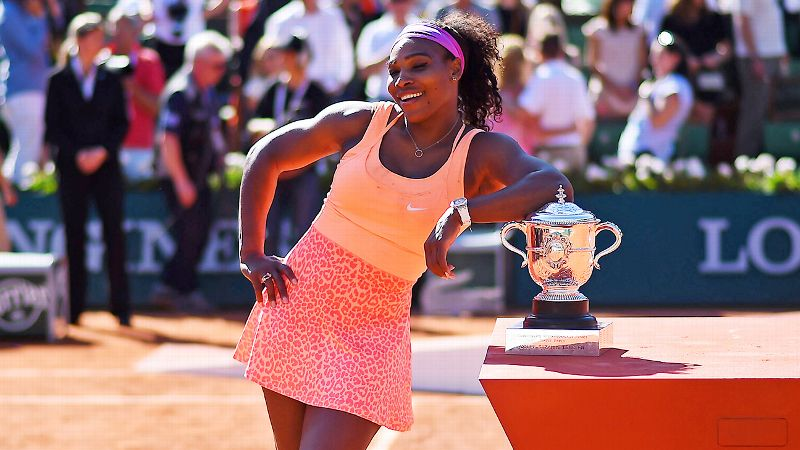 Serena Williams confirmó que está embarazada