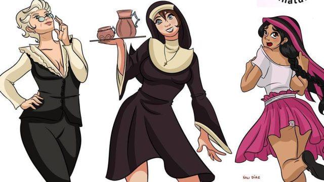 Chécate las versiones manga de personajes de marcas mexicanas hechas por fans