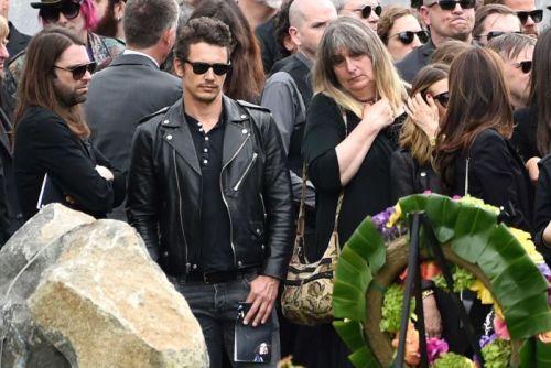 Franco en el funeral de Chris Cornell